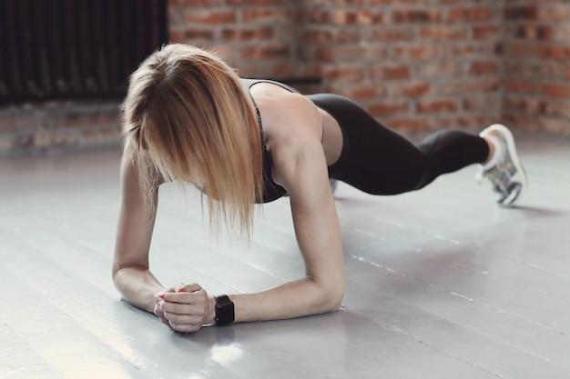 Fitnessfrau