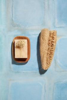 Flach gelegte natürliche selbstpflegeprodukte zusammensetzung