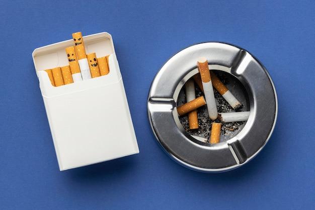 Flach lag keine tabak tag elemente zusammensetzung