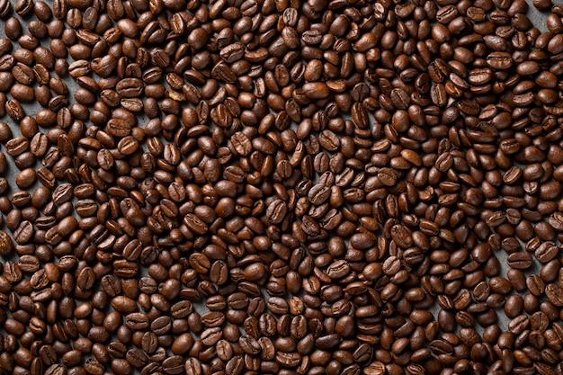 Flache kaffeebohnen