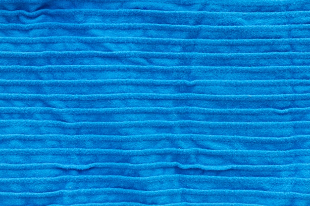 Flache lage aus textil