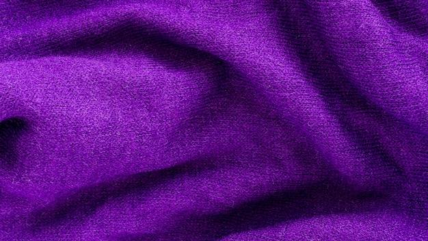 Flache lage aus textilmaterial