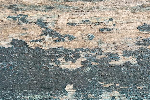 Flache lage der gealterten oberfläche mit farbe