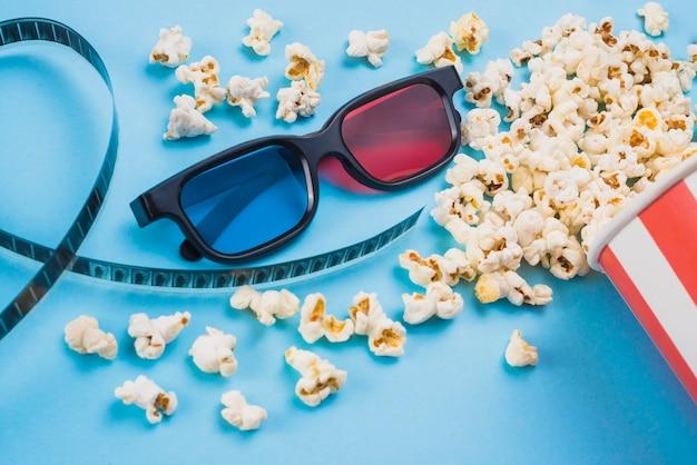 Flache lagekomposition von kinoobjekten