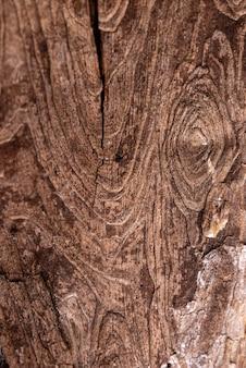 Flache natürliche holzstruktur