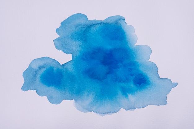 Flaches aquarell auf papier legen
