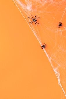 Flaches kreatives halloween-sortiment