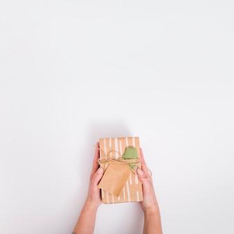 Flaches laiengeschenkkonzept