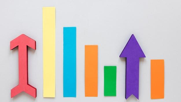 Flaches laienwirtschaftswachstum