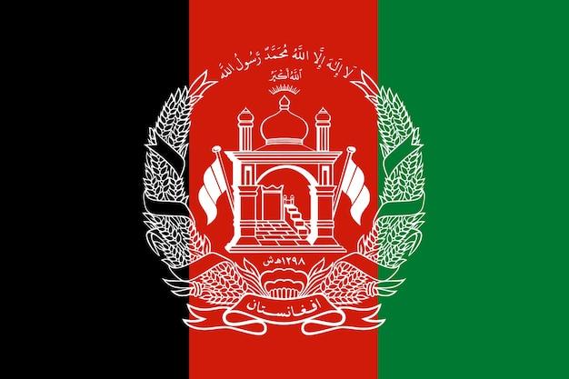 Flagge afghanistans Premium Fotos