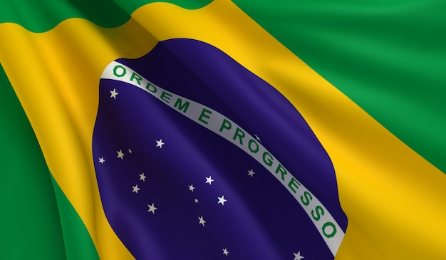 Flagge brasiliens