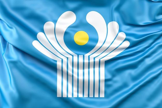 Flagge der gemeinschaft unabhängiger staaten