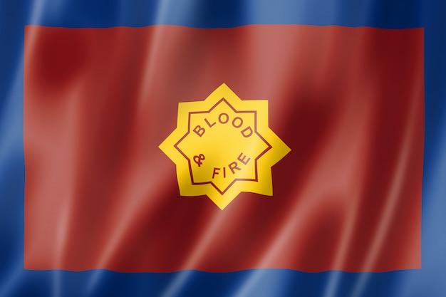 Flagge der heilsarmee, großbritannien