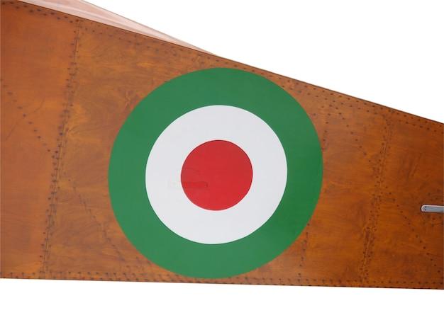 Flagge der italienischen luftwaffe
