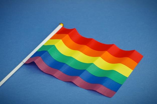 Flagge der lgbt-community