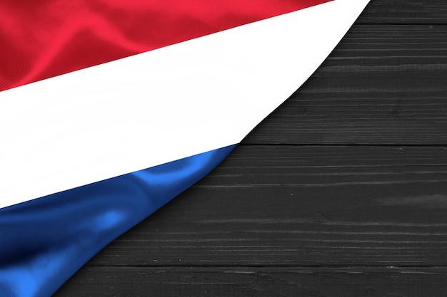 Flagge der niederlande kopierraum
