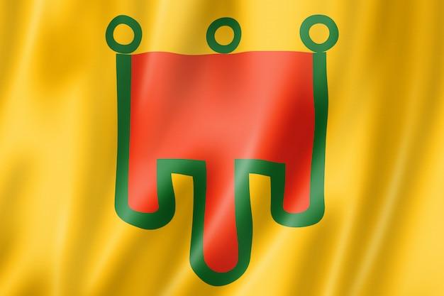 Flagge der region auvergne, frankreich