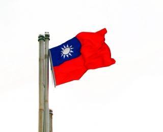 Flagge der republik china