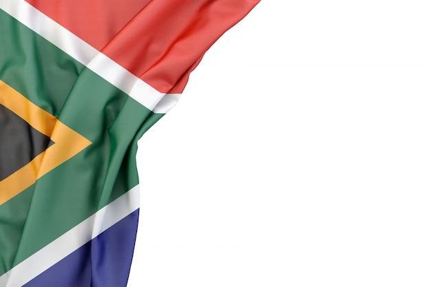 Flagge der republik südafrika