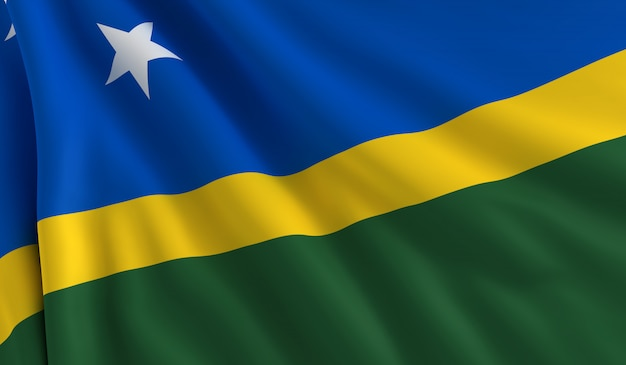 Flagge der salomonen