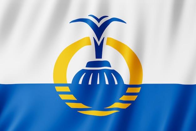 Flagge der stadt orlando, florida (usa)