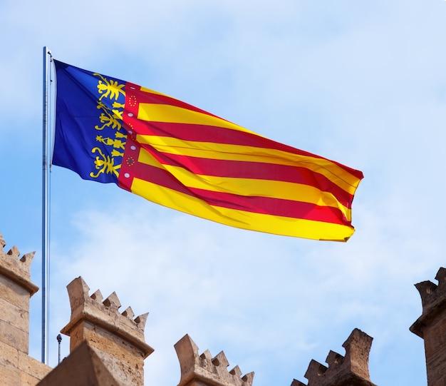 Flagge der valencianischen gemeinschaft