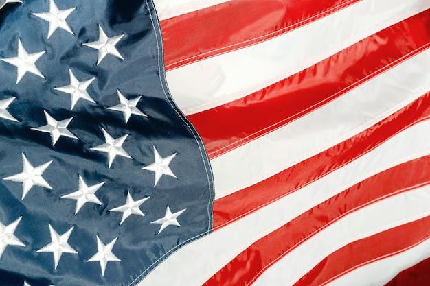 Flagge der vereinigten staaten von amerika usa