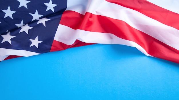 Flagge der vereinigten staaten von amerika.