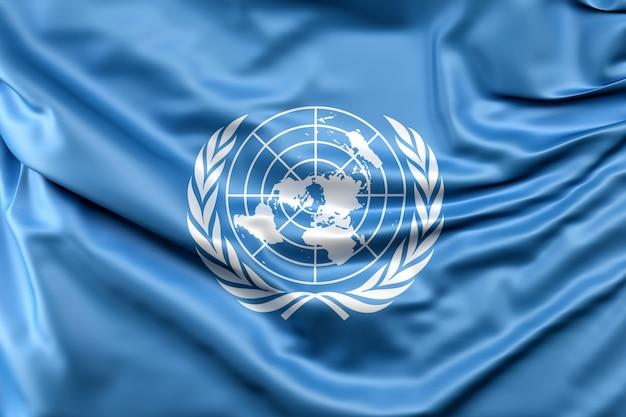 Flagge der vereinten nationen