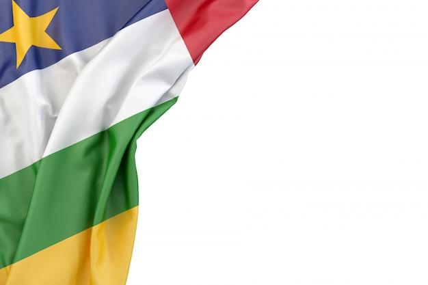 Flagge der zentralafrikanischen republik