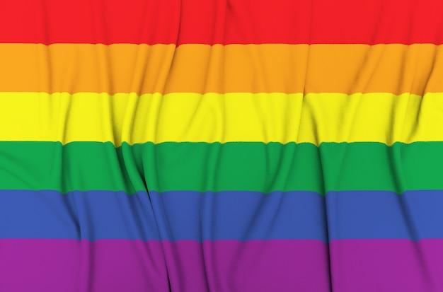 Flagge des homosexuellen stolzes