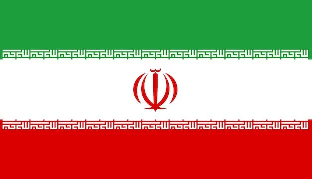 Flagge des iran