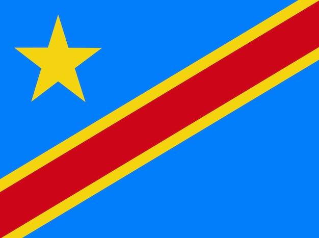 Flagge des kongo