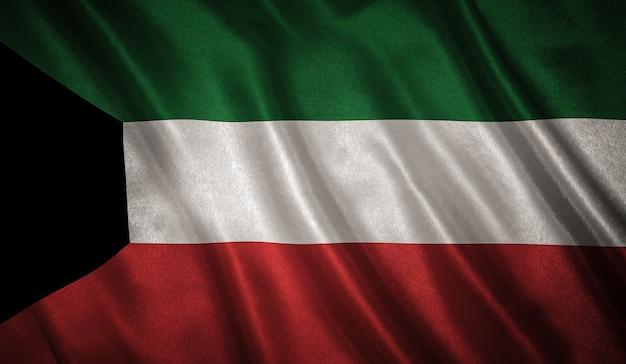 Flagge des kuwait