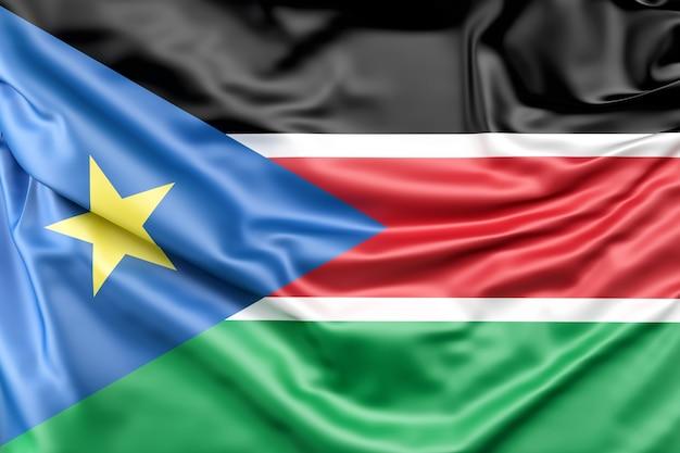 Flagge des südsudans