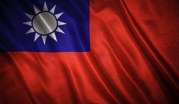 Flagge des taiwan
