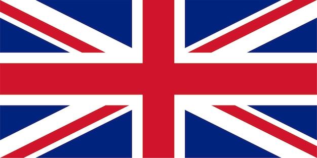 Flagge des vereinigten königreichs (uk) alias union jack