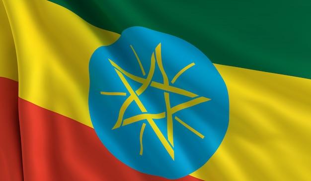 Flagge von äthiopien