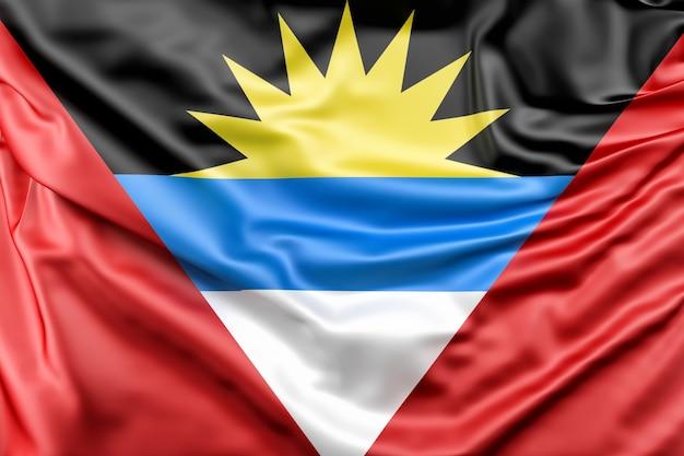 Flagge von antigua und barbuda