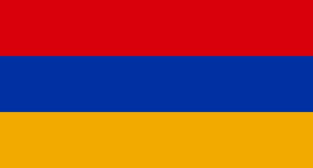 Flagge von armenien Premium Fotos