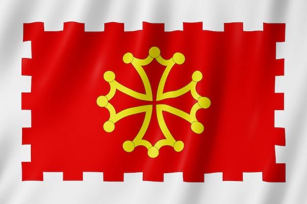 Flagge von aude, frankreich
