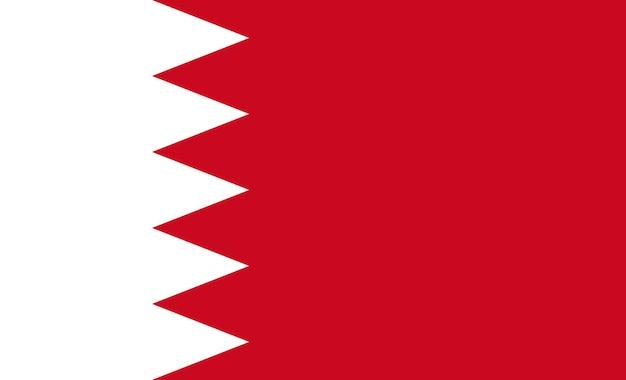 Flagge von bahrain