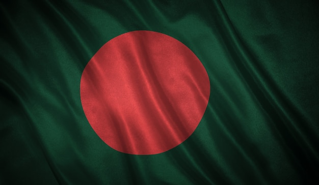 Flagge von bangladesch hintergrund