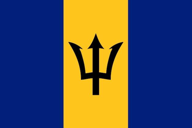 Flagge von barbados