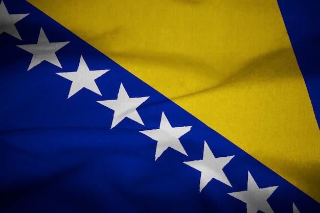 Flagge von bosnien und herzegowina