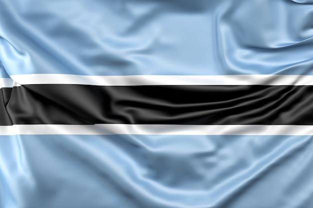 Flagge von botsuana