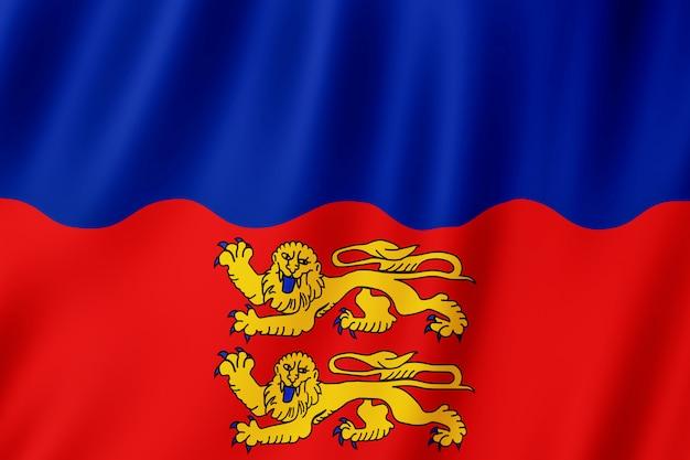 Flagge von calvados, frankreich