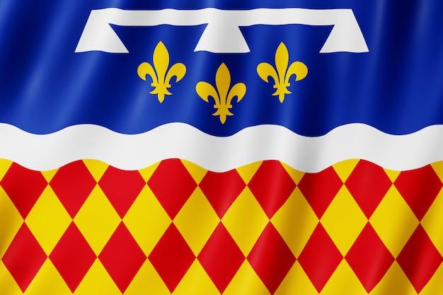 Flagge von charente, frankreich