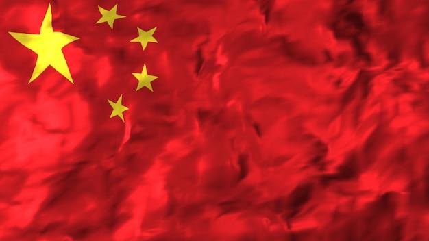 Flagge von china.