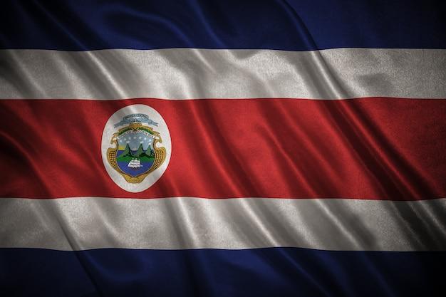 Flagge von costa rica hintergrund